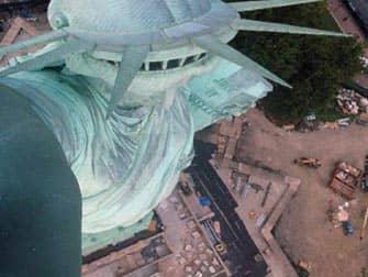Estatua de la Libertad - corona