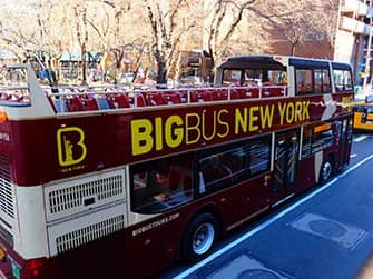 Visitar Nueva York durante una semana - Bus Hop on Hop off