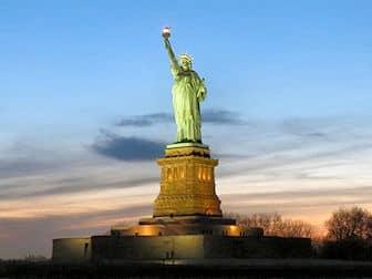 Estatua de la Libertad - Atardecer