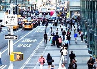 Nueva York a pie