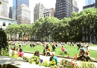 El Bryant Park de Nueva York
