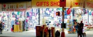 Compras típicas souvenirs nueva york