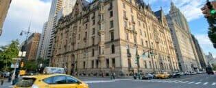El edificio Dakota de Nueva York