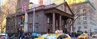 La Capilla de St Paul en Nueva York