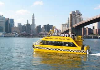 Taxis acuáticos en Nueva York