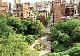 Gramercy Park en Manhattan