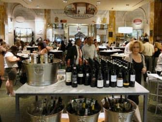 Mercados en NYC - vinos en Eataly
