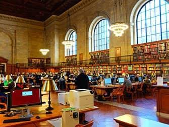 Biblioteca pública en Nueva York - Interior