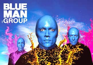 Musical Blue Man Group en Nueva York