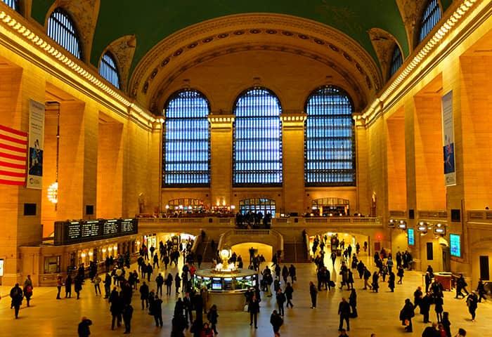 Grand Central Terminal en Nueva York - Interior
