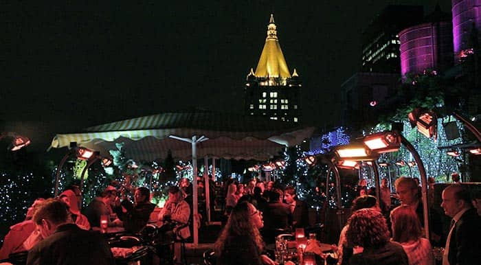 Bar rooftop en Nueva York
