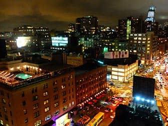 Bares rooftop en Nueva York - Vista desde el Gansevoort Hotel