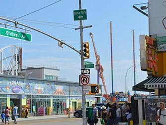 Coney Island en New York - Surf Avenue