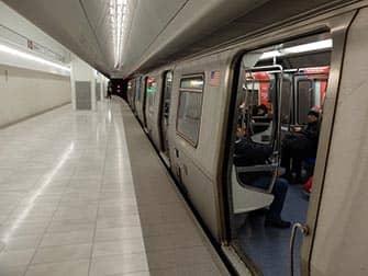 PATH en Nueva York - Tren