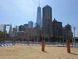 TriBeCa en Nueva York - Pier25 playa