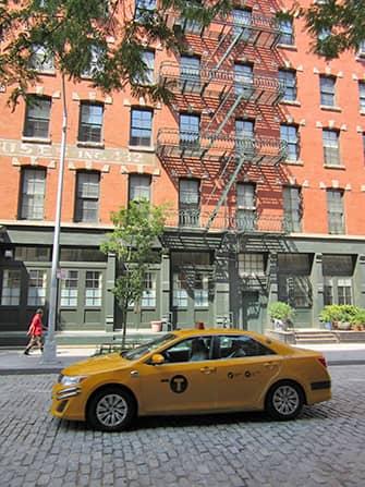 TriBeCa en Nueva York - taxi