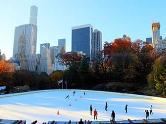 Central Park - Patinar en Wollman Rink