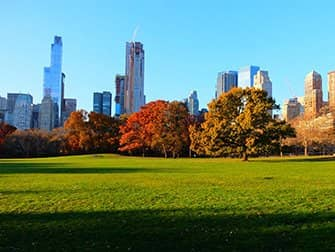 Central Park - Sheep Meadow en otoño