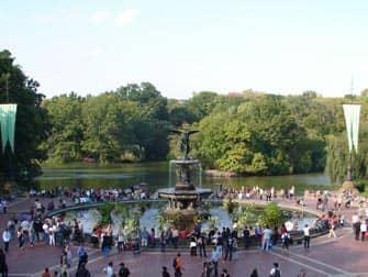 Central Park en NYC - Bethesda Fountain