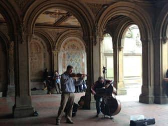Central Park en NYC - Bethesda Terrace