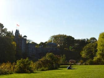Central Park en Nueva York - Castillo Belvedere