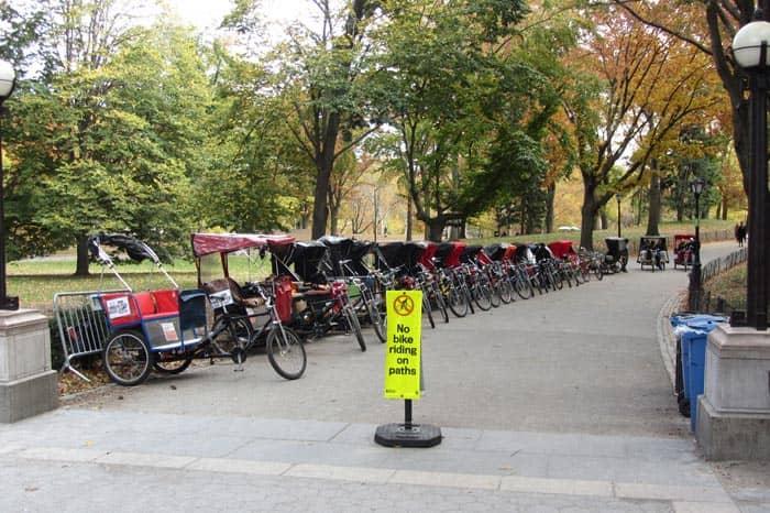 Central Park en NYC - Pedicab
