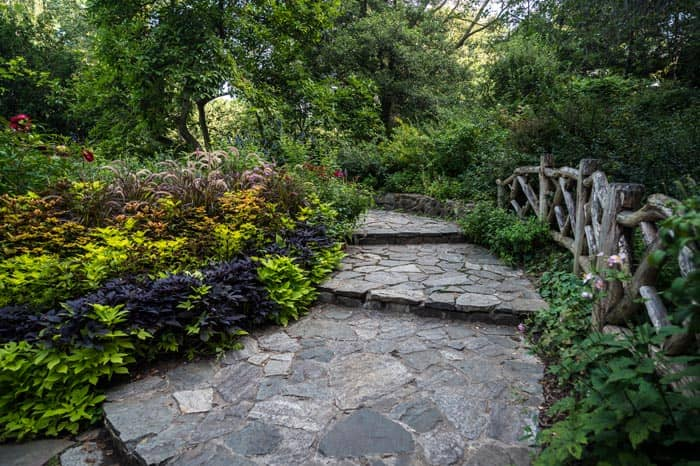 Central Park en NYC - Shakespeare Garden