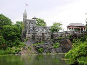 Central Park en Nueva York - Belvedere Castle