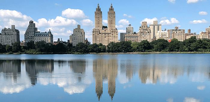 Central Park en Nueva York - Jacqueline Kennedy Onassis Reservoir