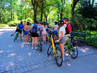Central Park en Nueva York - Tour en bicicleta