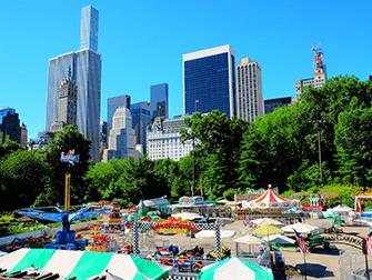 Central Park en Nueva York - Victorian Gardens
