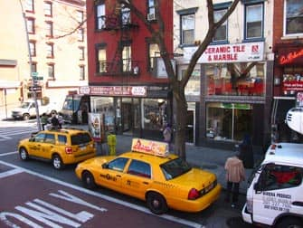 East Village en Nueva York - Taxis