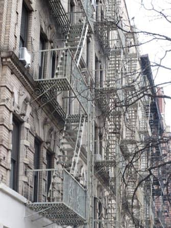 East Village en Nueva York - edificios