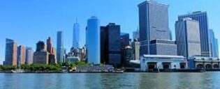 Lower Manhattan y el Financial District en Nueva York