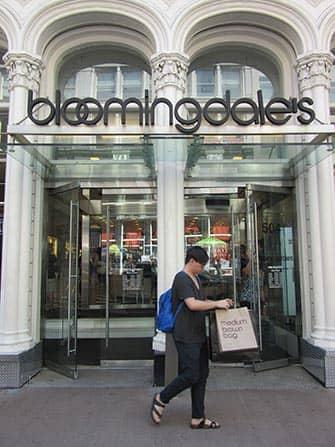 Bloomingdales en NYC - bolsas marrones