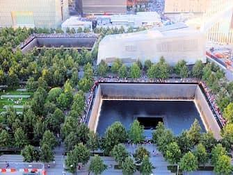 Monumento del 11-S en Nueva York - Desde arriba