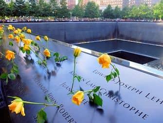 Monumento del 11-S en Nueva York - Rosas