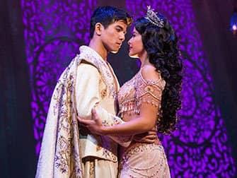 Tickets para Aladdin en Broadway - Aladdin y Jasmine