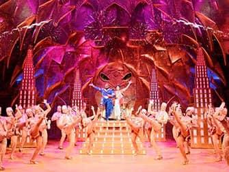 Tickets para Aladdin en Broadway - Genie y Aladdin
