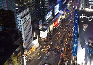 times square hoteles