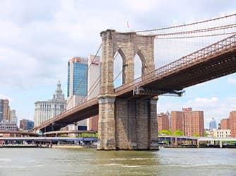 Circle Line crucero Landmark - Brooklyn Bridge