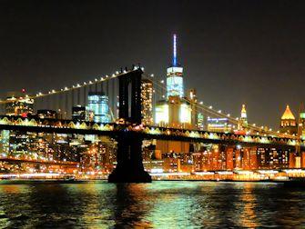 Crucero con cena bufe en Nueva York - Puente Skyline Manhattan