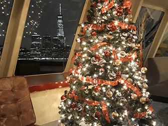 Cruceros con cena de Nochebuena en Nueva York - Árbol de Navidad