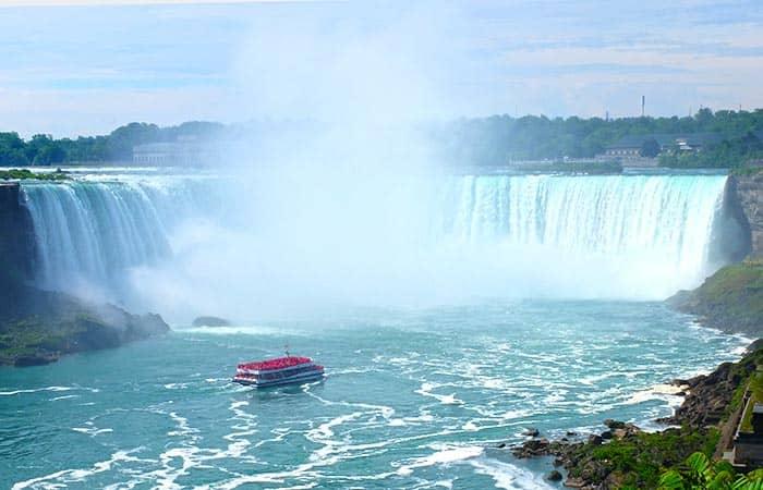 Excursion de 3 dias a Niagara Falls - Paseo en barco