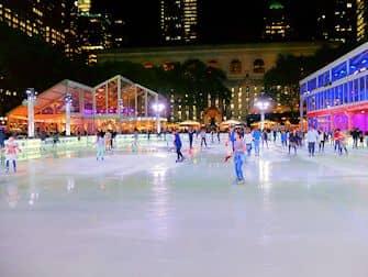 Patinar sobre hielo en Nueva York - Bryant Park Rink