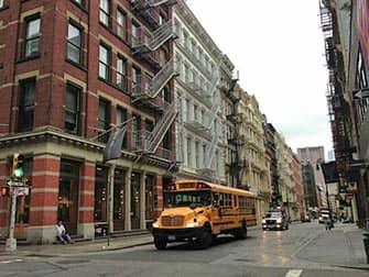 SoHo en Nueva York - Bus escolar