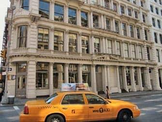 SoHo en Nueva York - taxi