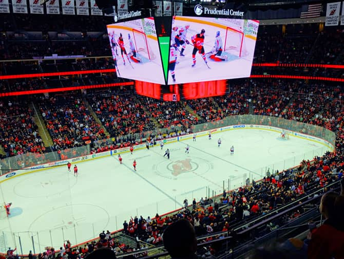 Tickets para los New Jersey Devils - Estadio