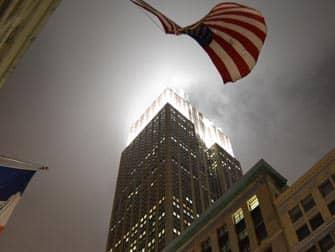 Empire State en Nueva York - por la noche