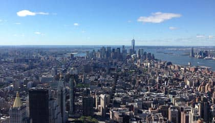 Empire State en Nueva York - vistas